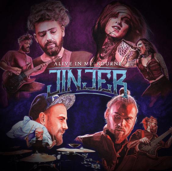 Jinjer Alive In Melbourne cover album