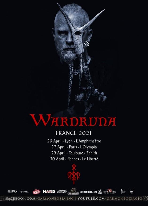 Wardruna tournée française 2021