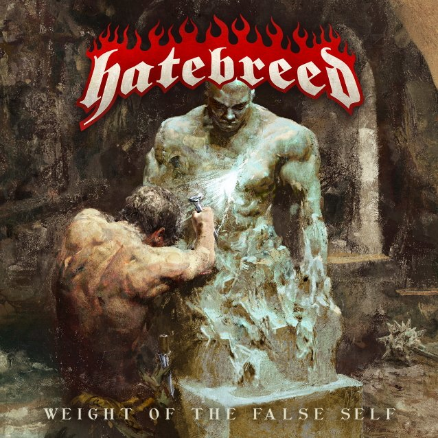 Hatebreed Weight Of The False Self cover artwork