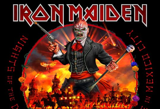 Iron Maiden, Nights Of The Dead - Legacy Of The Beast, Live in Mexico City, album, cover, pochette
