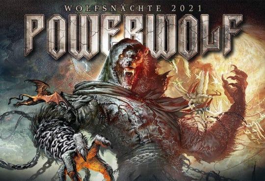 powerwolf tournée 2021