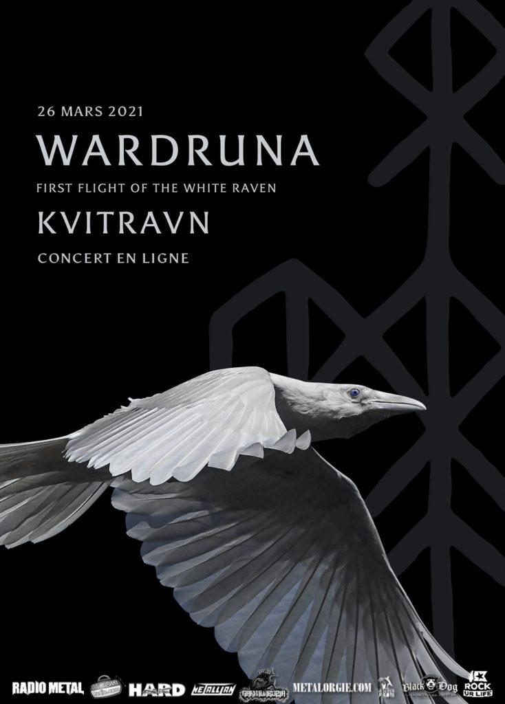 Wardruna live stream first flight of the white raven