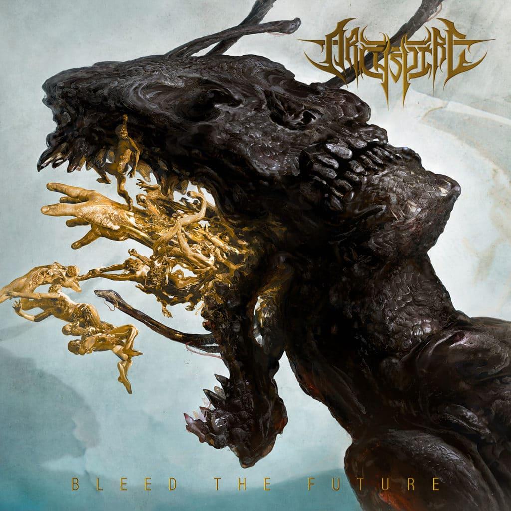 Archspire Bleed The Future album cover